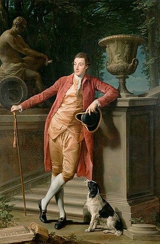 John Chetwynd-Talbot, 1st Earl Talbot - Portrait of John Talbot, later 1st Earl Talbot by Pompeo Batoni, 1773