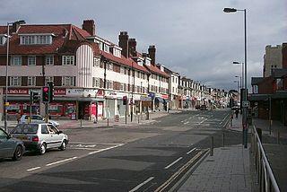 Portswood suburb of Southampton, England