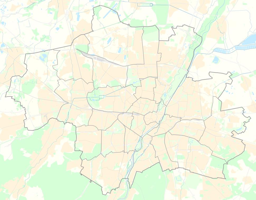 Positionskarte München