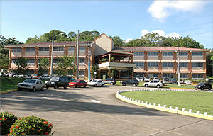 Technological University of Panama - Masters's Degree building on the Dr. Victor Levi Sasso Campus.