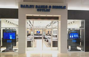 Bailey Banks & Biddle - Potomac Mills Outlet, one of the company's nine retail stores