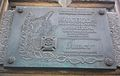 Poznan, plaque, scout, Św. Marcin.jpg
