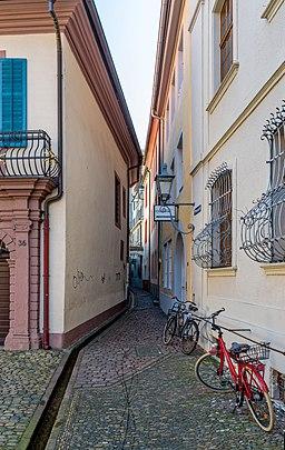 Präsenzgässle in Freiburg im Breisgau
