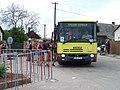 Prčice, Divišovická, kyvadlové autobusy do Heřmaniček, Stenbus 5.jpg