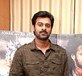 Prabhas at Baahubali media meet, day 2 (cropped).jpg