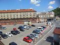 Praha, Karlín, parkoviště u ÚAN.jpg