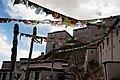 Prayer flags at Gyantse in 2014.jpg