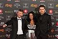 Premios Goya 2018 - Santiago Gallelli, Vania Beatriz Lima y Domenech Benjamin (Zama).jpg