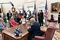 President Donald J. Trump Participates in a Fentanyl Epidemic Update Meeting (48132224971).jpg