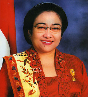 Megawati Sukarnoputri The fifth President of the Republic of Indonesia