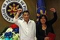 President Rodrigo Duterte and Joan Bondoc.jpg