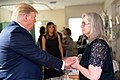 President Trump and the First Lady in Dayton, Ohio (48482622111).jpg