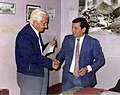 Presidente Arturo Illia y Héctor Horacio Dalmau.JPG