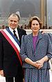 Presidente Patricio Aylwin, junto a su esposa.jpg