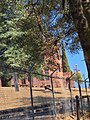 Preston Castle--view from outside closed fencing.jpg