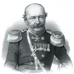 Jandieri - Colonel Prince Giorgi Jandieri was awarded George's Cross for his service during the Crimean War (1853-6).