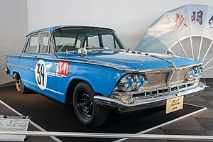 Nissan Gloria - Prince Gloria Super 6, 1964 2nd Japanese Grand Prix T-VI class winner