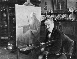 Benjamin Prins - Benjamin Prins in his atelier, Amsterdam, 1934
