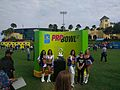 Pro Bowl Cheerleaders and the Pro Bowl Trophy (32178484010).jpg