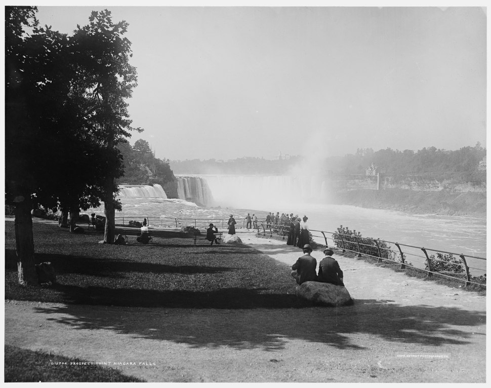 Prospect Point Niagara Falls c1900