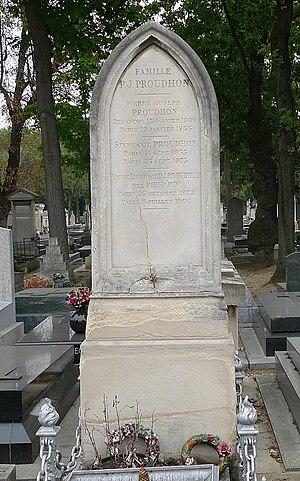 Pierre-Joseph Proudhon - Proudhon's grave in Paris