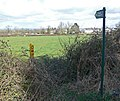 Public Footpath on Fleckney Road - geograph.org.uk - 735210.jpg