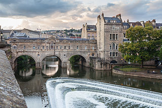 Pulteney Bridge Grade I listed bridge in Bath and North East Somerset, United Kingdom