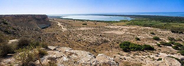 Punta Entinas-Sabinar. panorámica desde la carretera.jpg
