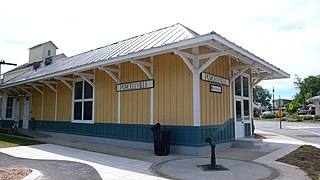 Purcellville Train Station United States historic place