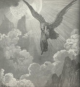 Dante Alighieri - Illustration for Purgatory (Purgatorio) by Paul Gustave Louis Christophe Doré