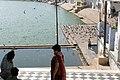 Pushkar, India, Pushkar Lake, Visitors.jpg