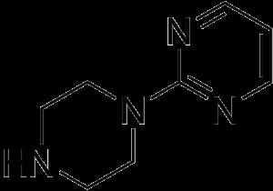 Pyrimidinylpiperazine - Image: Pyrimidinylpiperazin e