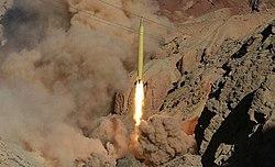 Qadr missile (Eghtedar-e Velayat wargamem, March 2016) 02.jpg