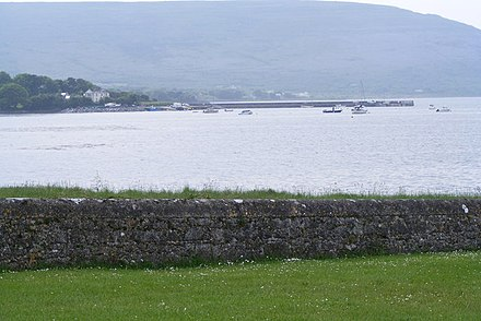 Quay and Ballyvaughan Bay