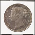 Queen Victoria proof florin MET DP100389.jpg