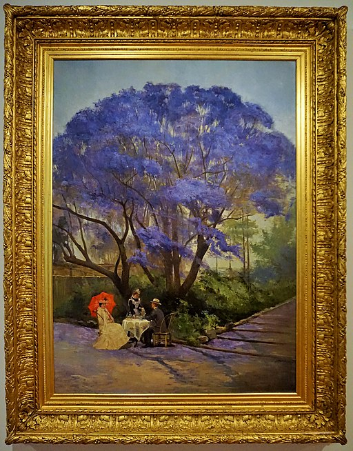 Under the Jacaranda in the Botanic Gardens – Joy of Museums