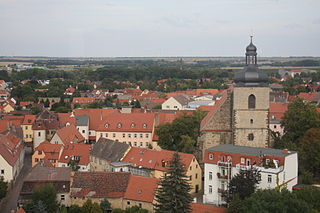 Querfurt Place in Saxony-Anhalt, Germany