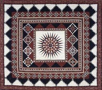 Patchwork quilt - Patchwork quilt: 1992 Kentucky State Winner.