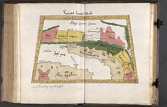Geography (Ptolemy) - Image: Quinta Europa Tabula 1520