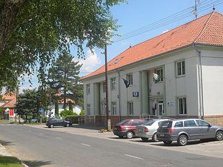 Röszke Village in Csongrád-Csanád, Hungary