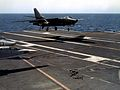 RA-3B of VAP-61 landing on USS Kitty Hawk (CVA-63) c1968.jpg