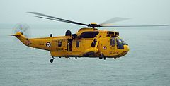 Westland Sea King należący do Royal Air Force