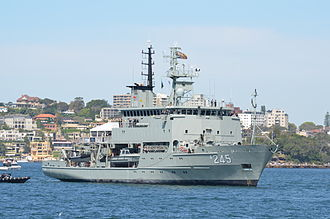 Leeuwin-class survey vessel - HMAS Leeuwin in 2013