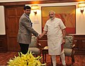 RBI Governor Raghuram Rajan meets Prime Minister Modi on 3 June 2014.jpg