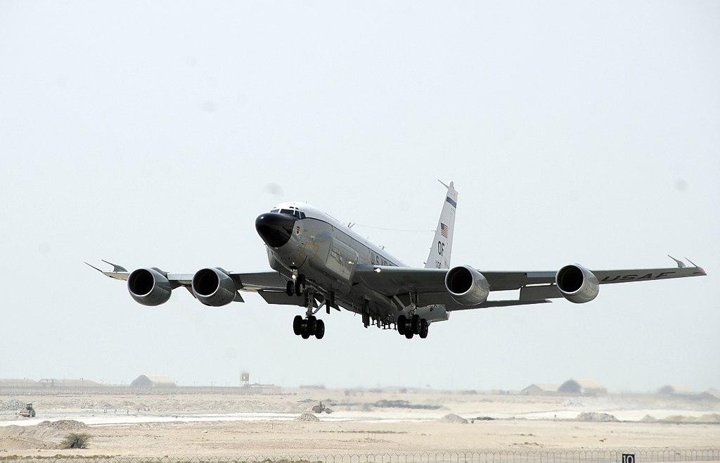 Boeing RC-135 (avion de  reconocimiento USA ) 1024px-RC-135_Rivet_Joint_2008