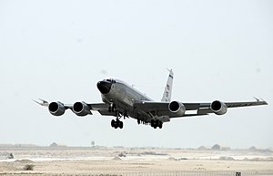 8th Weapons Squadron - Image: RC 135 Rivet Joint 2008