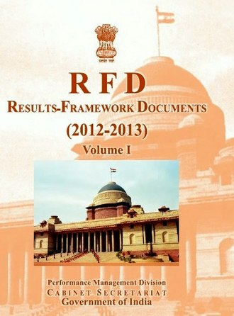 Performance Management Division - Sample cover for RFD 2012-13