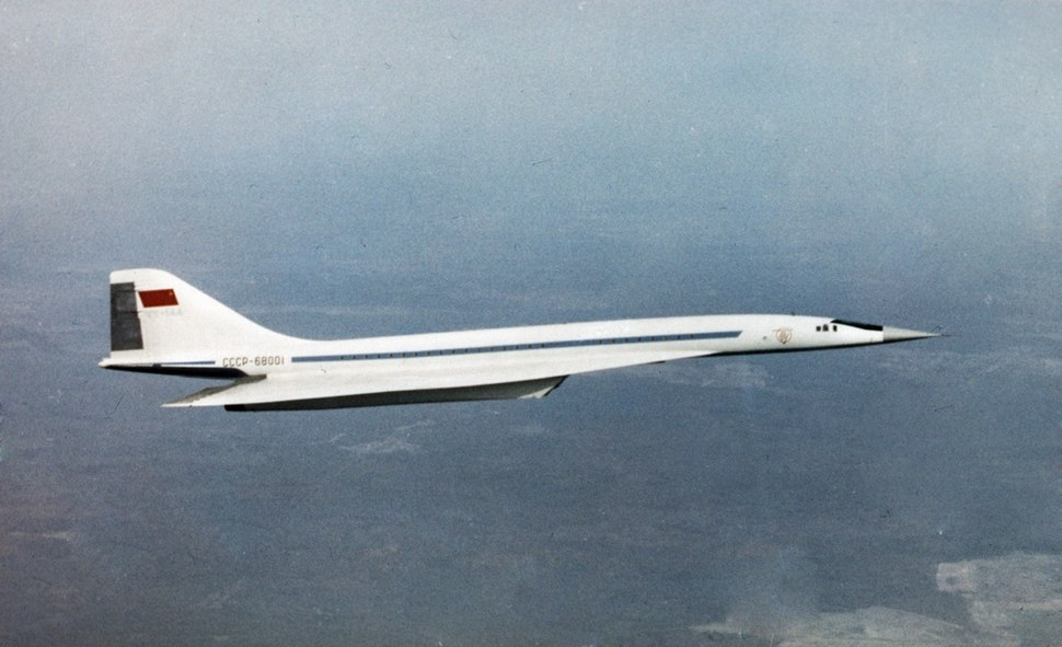 RIAN archive 566221 Tu-144 passenger airliner