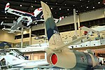 ROKAF F-86F(24-759) stabilizer right rear view at Jeju Aerospace Museum October 5, 2018.jpg