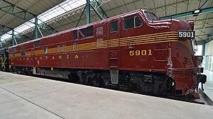 EMD E7 - Image: RR76.37 No. 5901 Front Side